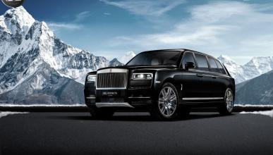 Rolls-Royce Cullinan blindado y alargado