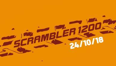 Teaser de la Triumph Scrambler 1200