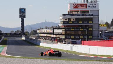 Test F1 Barcelona