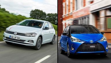 Toyota Yaris Hybrid vs Volkswagen Polo TGI