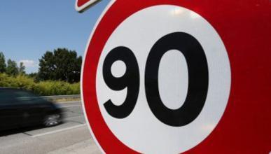 Velocidad 90 km/h