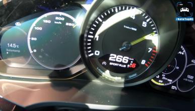 Velocidad Porsche Cayenne E-Hybrid