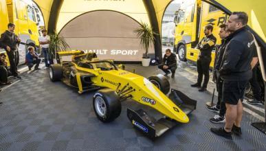 Alonso en la Fórmula Renault
