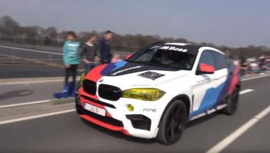 BMW X6 M Akrapovic