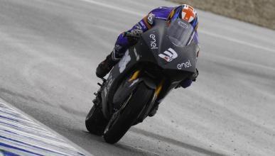 Bradley Smith en el test MotoE Jerez 2018