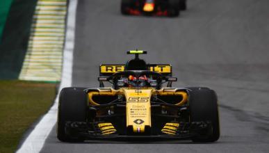 Carlos Sainz en el GP Brasil