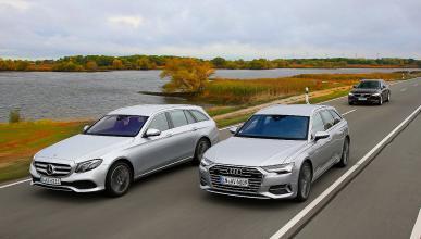 Comparativa del nuevo Audi A6 Avant vs Volvo V90 y Mercedes Clase E Estate