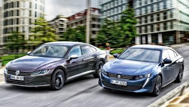 Comparativa Peugeot 508 vs Volkswagen Arteon
