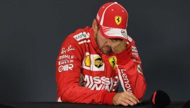 Errores Vettel F1 2018
