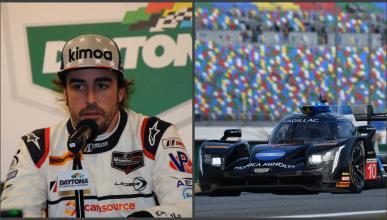 Fernando Alonso en las 24 Horas Daytona 2019