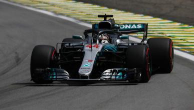 Hamilton en la clasificación Brasil