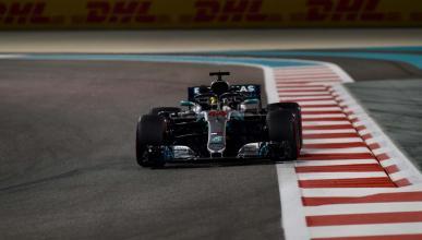 Lewis Hamilton en Abu Dhabi