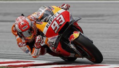 Marc Márquez en la Clasificación MotoGP Malasia 2018
