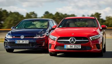 Comparativa: Mercedes Clase A 250 vs Volkswagen Golf GTI Performance -- Autobild.es
