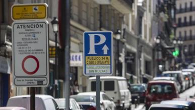 Parkings autorizados Madrid Central