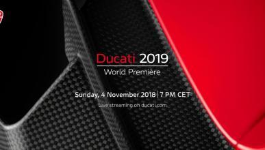 Presentación Ducati EICMA 2018