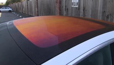 techo del Tesla Model 3