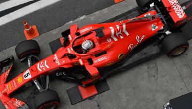 Vettel en pesaje