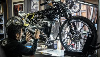 moto prototipo motor boxer