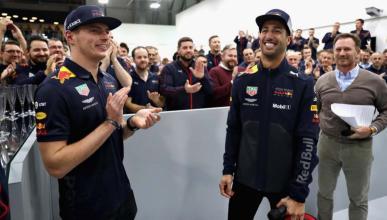 Daniel Ricciardo se despide de Red Bull