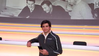 Entrevista a Carlos Sainz en McLaren