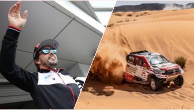 Fernando Alonso y el Dakar