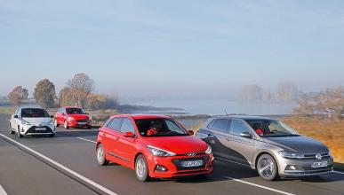 Ford Fiesta vs Hyundai i20, VW Polo y Toyota Yaris