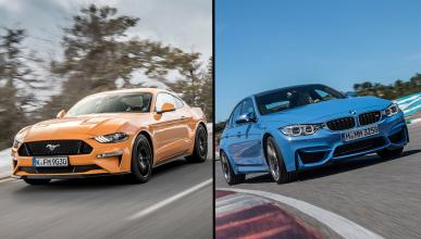 Ford Mustang GT vs BMW M3