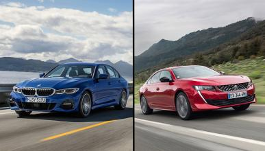 Peugeot 508 2019 vs BMW Serie 3