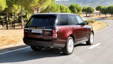 Prueba del Range Rover P400E