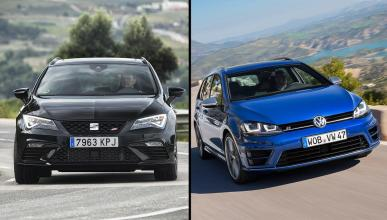 Seat Leon ST Cupra Black Carbon vs Volkswagen Golf Variant R
