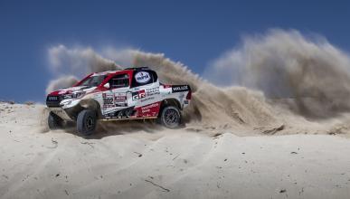 Toyota Hilux en el Dakar 2019