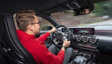 Prueba del Mercedes AMG A 35