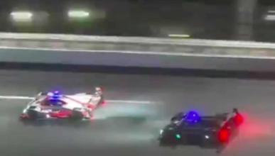 Los adelantamientos de Fernando Alonso en Daytona