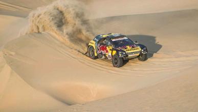 Sebastien Loeb en la Etapa 2 del Dakar