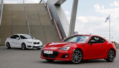 Subaru BRZ vs BMW 220i