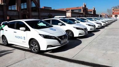 Nissan Leaf para el Ayuntamiento de Madrid
