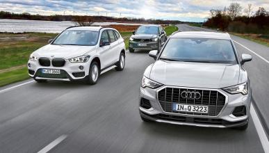 Comparativa Audi Q3, BMW X1 y Volvo XC40