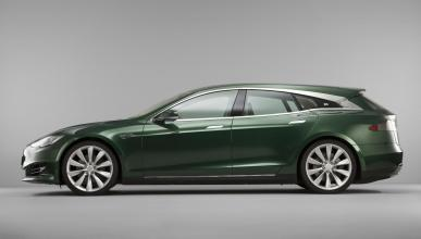 Tesla Model S shooting brake