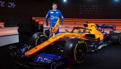 Carlos Sainz y el MCL34