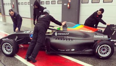 Coche de Fernando Alonso en la Fórmula Renault