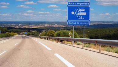 Radar de velocidad fijo