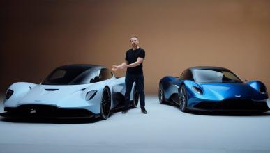 AM-RB 003 y Aston Martin Vanquish Concept