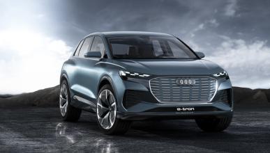 Audi Q4 e-tron concept (frontal)