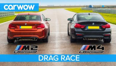 BMW M2 Competition contra BMW M4 Competition