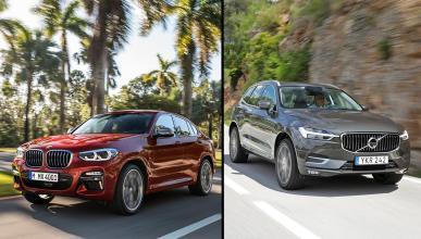 BMW X4 vs Volvo XC60