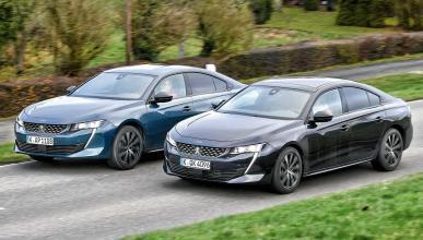Comparativa Peugeot 508 gasolina o diesel