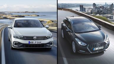 Hyundai i40 vs Volkswagen Passat
