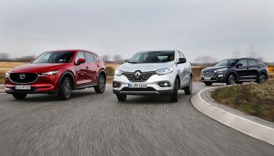 Mazda CX-5 vs Hyundai Tucson y Renault Kadjar