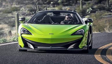 Prueba del McLaren 600LT Spider